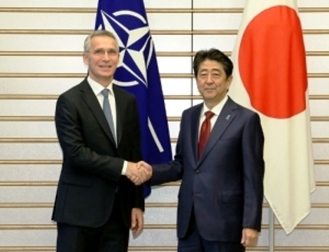 Meeting between Prime Minister Shinzo Abe and NATO Secretary General Jens Stoltenberg